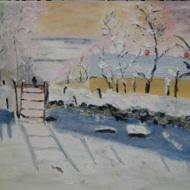 Monet Study Raven